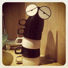 Demasiadas tazas de cafe...