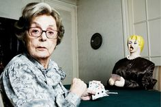 Photographer Sasha Goldberger realized that his 91 year old grandmother was lonely and devised this collaborative photo project to cheer her up.