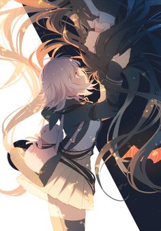 Image shared by Find images and videos about anime, danganronpa and on We Heart It - the app to get lost in what you love. Fan Art Anime, Anime Artwork, Anime Art Girl, Anime Girls, Danganronpa Characters, Anime Characters, Ouran Highschool Host Club, Nanami Chiaki, Desu Desu