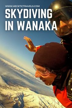 Pete went Skydiving with SkyDive Wanaka in New Zealand from 15,000 feet. It was a terrifying yet amazing experience. Wanaka New Zealand, Visit New Zealand, Skydiving, South Island, Photographs, Travel, Amazing, Viajes, Photos