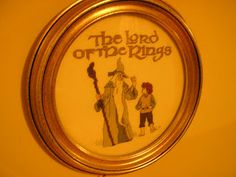 Which Hobby Now: Cross Stitch: Lord of the Rings - Gandalf and Bilbo - designed from a coloring  book