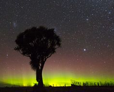 "On June 5th and 6th, a stream of solar wind buffeted Earth's magnetic field, sparking bright auroras. Although the lights danced in equal measure around both of Earth's poles, they were best seen in the southern hemisphere. ""It is getting frosty, cold, and dark as winter approaches,"" says Taichi Nakamura of Dunedin NZ. ""This allowed us to see a strong display in the south of New Zealand."" He took this picture on June 6th.