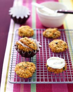 Carrot-Cake Cookies - Martha Stewart Recipes