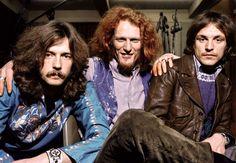 Eric Clapton, Ginger Baker & Jack Bruce Cream, february 1968