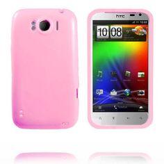 Candy Colors (Lyse Rosa) HTC Sensation XL Deksel