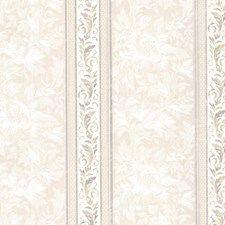 Lavender Stripe Wallcovering by Brewster