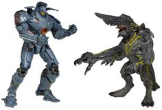 "Lindsey's Toy Room - Pacific Rim - 7"" Figure Series 01 - Gipsy Danger vs Knifehead 2-Pack, $35.99 (http://www.lindseystoyroom.com/pacific-rim-7-figure-series-01-gipsy-danger-vs-knifehead-2-pack/)"