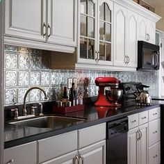Attirant Tin Backsplashes | Backsplash Design Ideas | Kitchen Backsplash
