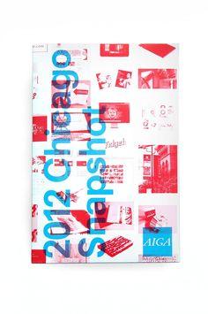 AIGA Snapshot Book   Scott Reinhard Co.