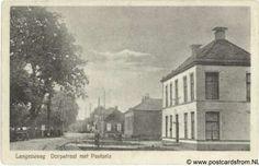 Langezwaag Dorpsstraat met pastorie