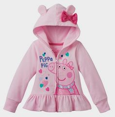 Toddler Girl Peppa Pig 3D Ear Zip-Up Hoodie Kohl's http://www.savings.com/m/p/32542149/6512548/c?afsrc=1&dl=http%3A%2F%2Fwww.kohls.com%2Fproduct%2Fprd-2594296%2Ftoddler-girl-peppa-pig-3d-ear-zip-up-hoodie.jsp