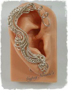 Sterling Silver Ear Cuffs by GypsyNonnie on Etsy