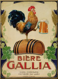 Biere Gallia Poster - http://www.allposters.com/-sp/Biere-Gallia-Posters_i8088541_.htm