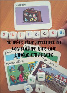 Des idées amusantes pour apprendre du vocabulaire dans une langue étrangère avec les enfants