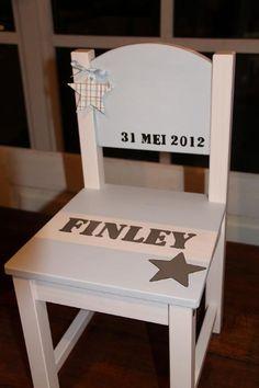 Geboortestoeltje voor Finley