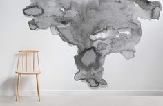 Detailed with neutral hues, swirling textures and a minimal style, our Soft Grey Watercolor Wall Mural has a magical effect on interior design. This wallpaper mural features a soft smoky grey cloud against a clean white background. The unique design is part of a collection of hand-painted watercolor pieces by our in-house designers. Pair it... Read more »