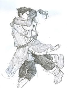 burdge: if liking these two together makes me a bad person, then… oops. BTN: Makorra! (Or Mako and Korra)