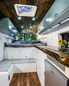 Creative & Unique Sprinter Van Conversion Interiors , Hit the road with your essentials and find out how you're using the van. Since you may see, there are lots of ways it's possible to build out a camper. Sprinter Van Conversion, Mercedes Sprinter Camper Conversion, Van Conversion Interior, Camper Van Conversion Diy, Diy Camper, Camper Life, Bus Life, Camping Car Sprinter, Sprinter Rv