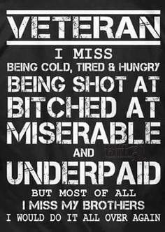 I miss my Brothers. Someone lot's of ppl have said this 1 in particular to me Awhile ago. Once A Marine, My Marine, Us Marine Corps, Military Quotes, Military Humor, Military Love, Military Service, Marine Corps Quotes, Semper Fi Marines