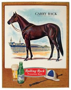 Kentucky Derby winner Carry Back, whose dam was a granddaughter of the great Blenheim. Preakness Winner, Preakness Stakes, The Belmont Stakes, Carry Back, Derby Horse, Horse Sketch, Derby Winners, Sport Of Kings, Thoroughbred Horse