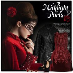 How To Wear Midnight IN PARIS Outfit Idea 2017 - Fashion Trends Ready To Wear For Plus Size, Curvy Women Over 20, 30, 40, 50