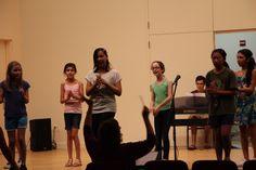 Show choir rehearsal.
