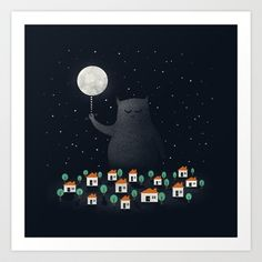 Good Night, Sleep Tight Art Print by Zach Terrell - $16.00