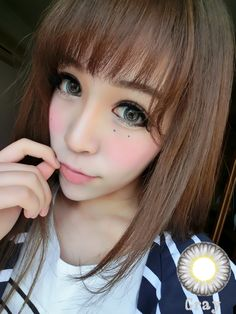 Best Selling Delicate Circle Contact Lenses Prescription Flower Bud Grey