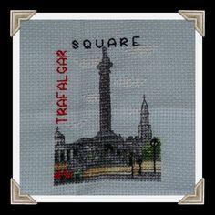 trafalgar square cross stitch
