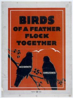 Vintage public health poster from the Universiteitsmuseum Amsterdam [via the Fed by Birds]