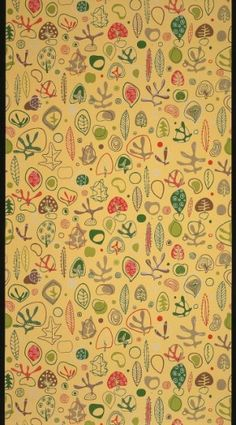Wallpaper by United Wallpaper, Chicago, ca.1955 | Smithsonian Cooper-Hewitt, National Design Museum, NY