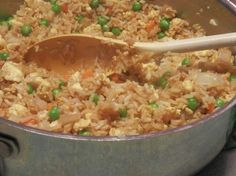 Copycat Chinese Fried Rice Recipe - healthy and budget saver! #copycat