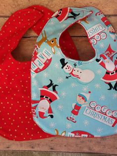 Christmas bibs $4.00 each To order please visit Teranika and Co. via Facebook formally known as Pink sparkles posh bowtique