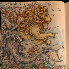 #mythomorphia #kerbyrosanes #leocampus #fabercastellpolychromos #posca #målarbokförvuxna #målarböckerförvuxna #adultcoloring #adultcoloringbook #mindfulness