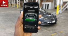 Here's What The Tesla App Can Do To Your Model S #Electric_Vehicles #gadgets