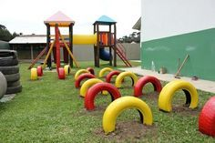 parcks made from recycled tyres - Google Search