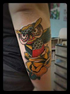Awl tattoo