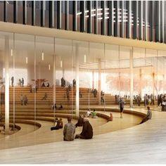 Interior  Helsinki Central Library