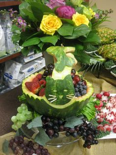 647-271-7971 Fruits And Veggies, Lovers, Animal, Cake, Desserts, Food, Fruits And Vegetables, Tailgate Desserts, Deserts