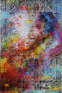 NYC-based Lala Abaddonhas a uniqueprocess that involves printing off large format photographs, cutting them into hundreds of strips, and weaving them together by hand. The resulting patterns are mesmerizing, and possess an almost pixelated or digitalquality to them. Check out … Continue reading →