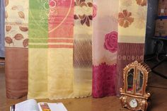 Create custom draperies with our drapery weight fabric, different designs available for choices