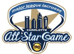 MLL All Star Game Primary Logo (2013) - 2013 MLL All-Star Game - Charlotte