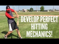 2 Simple Drills to Develop Perfect Baseball Hitting Mechanics! If you want perfect baseball hitting mechanics, you need to try these 2 simple and effective d. Baseball Tips, Baseball Pitching, Baseball Training, Baseball Photos, Baseball Players, Baseball Field, Baseball Stuff, Baseball Mom, Football
