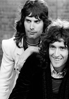 Freddie Mercury and Brian May at their finest.
