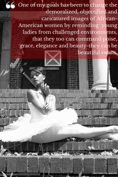 Aesha Ash is an internationally acclaimed, talented dancer who founded a nonprofit to inspire young black girls to pursue their dance dreams #womenshistory #BlackHistoryMonth