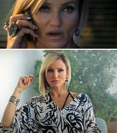 cameron diaz in counselor nails and outfit