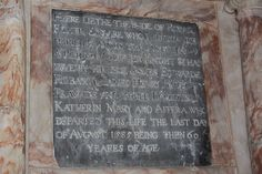 Robert Filmer (1525 - 1585) is buried in the Church of St. Peter and St. Paul in East Sutton, Kent, England.  He is Mike's 12th great grandfather.