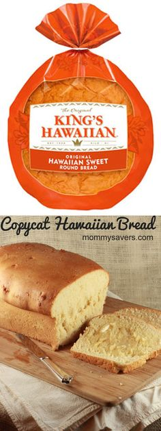Copycat Hawaiian Bread Recipe