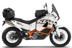 For 2013, the 990 Adventure Baja will push the limit of where a 1000cc twin-powered motorcycle can bring riders.