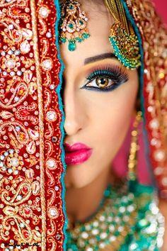 Indian Bride  #desi #wedding